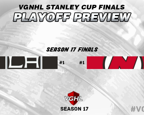 VGNHL Stanley Cup Final Preview