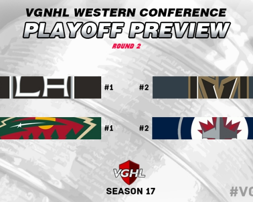 Western Conference Round 2 Playoff Preview