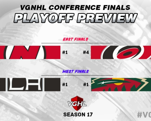 VGNHL Conference Finals Preview