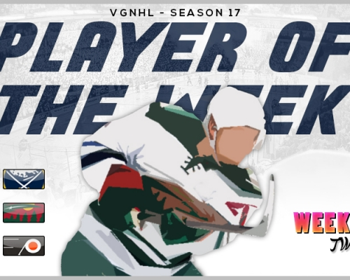 VGNHL Player of the Week - Week 2