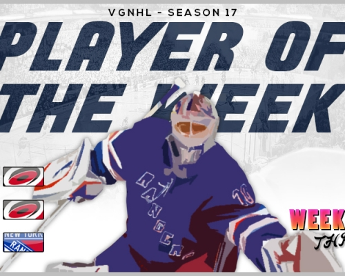 VGNHL Player of the Week - Week 3