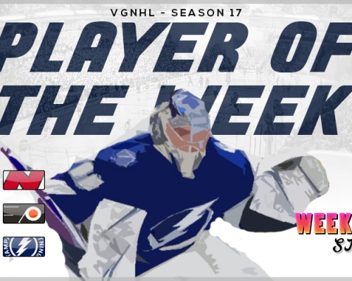 VGNHL Players of the Week - Week 6