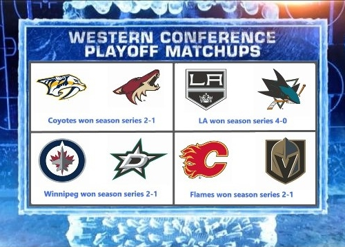 VGNHL Western Conference Playoff Predictions - Round 1