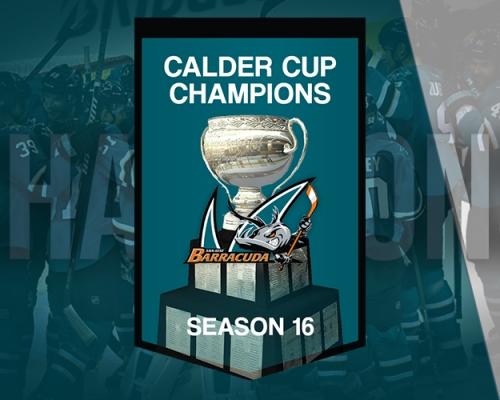 S16 Calder Cup Champions - San Jose Barracuda