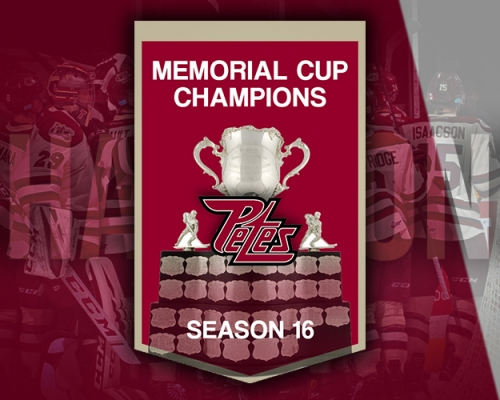 Memorial Cup Champions