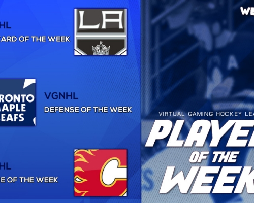 VGHL Players Of the Week 4