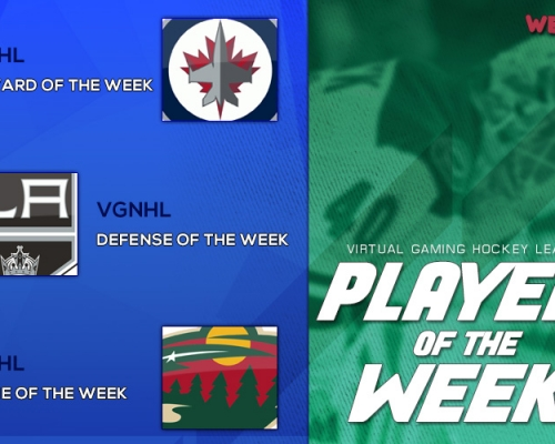 VGHL Players Of the Week  5