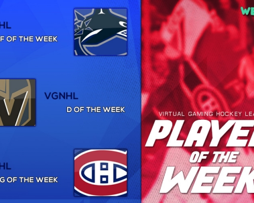 VGHL Players Of the Week