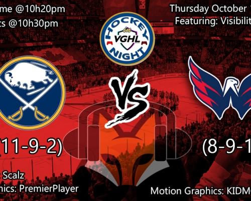 Hockey night in VGHL: Buffalo VS Washington