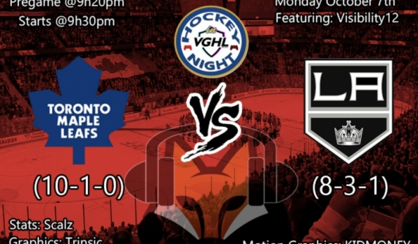 VGHL Hockey Night Presented by Foxpresentation